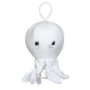 Music box Octopus Breeze white