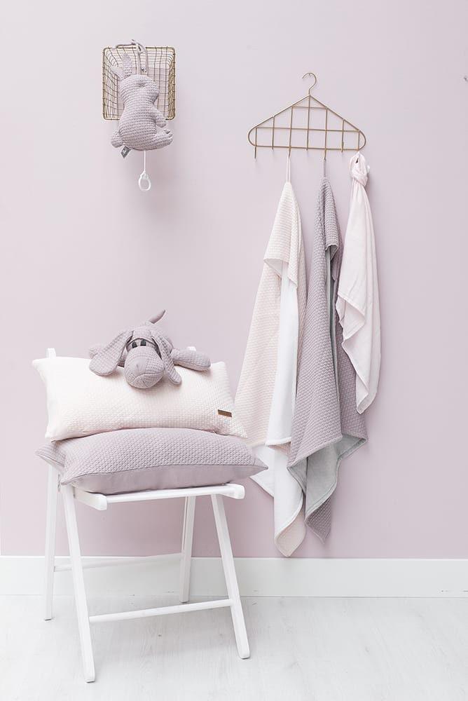 music box rabbit cloud classic pink