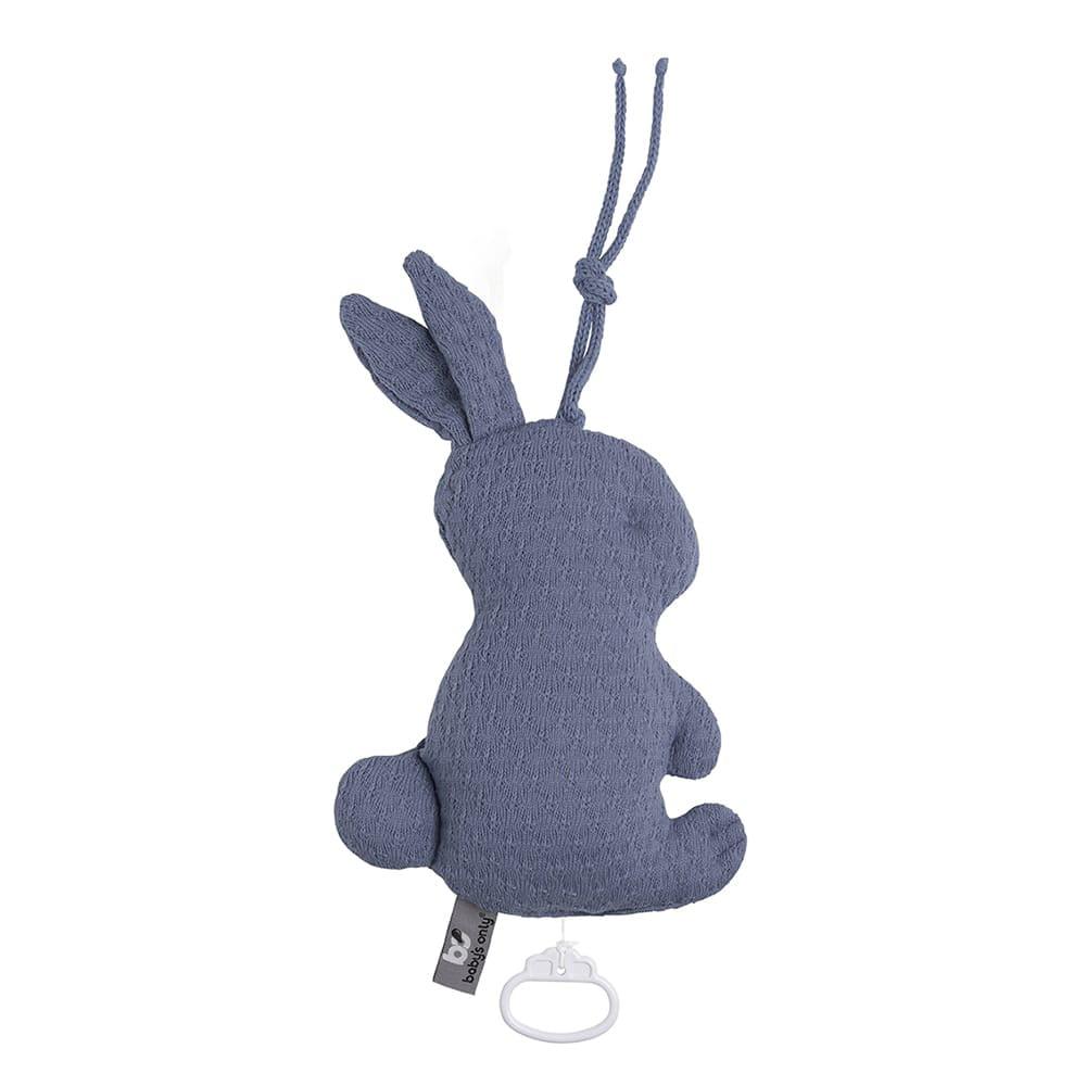 music box rabbit cloud indigo