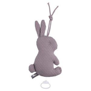 Music box rabbit Cloud lavender