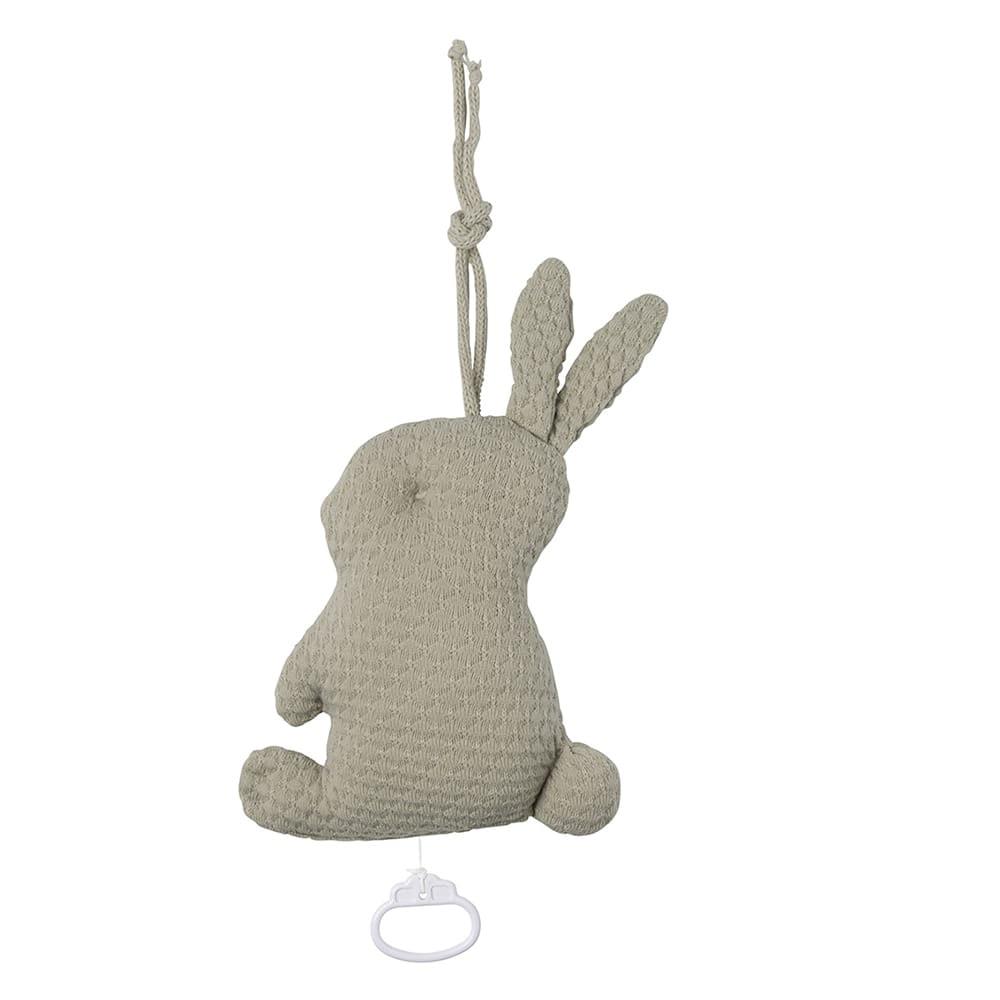 music box rabbit cloud olive