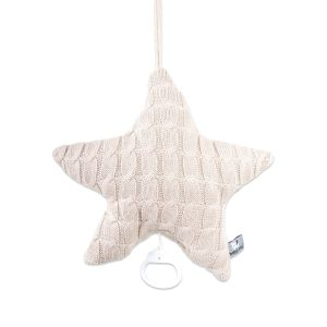 Music box star Cable beige
