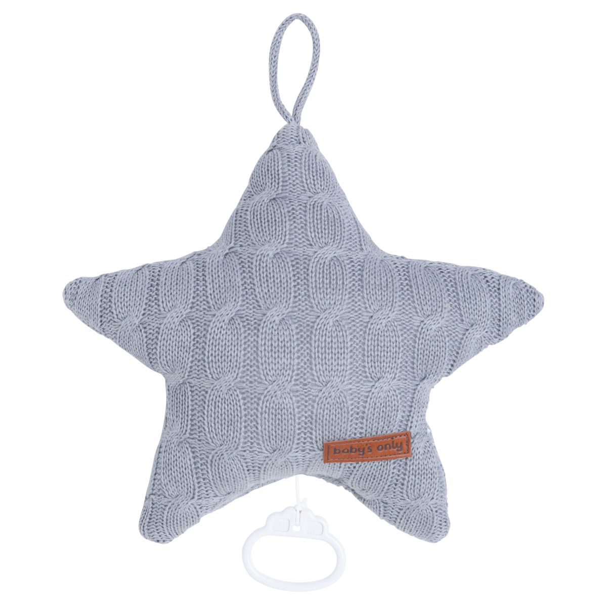 music box star cable grey