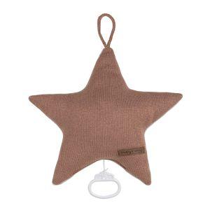 Music box star Sparkle copper-honey melee