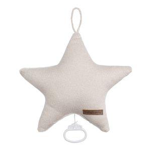 Music box star Sparkle gold-ivory melee