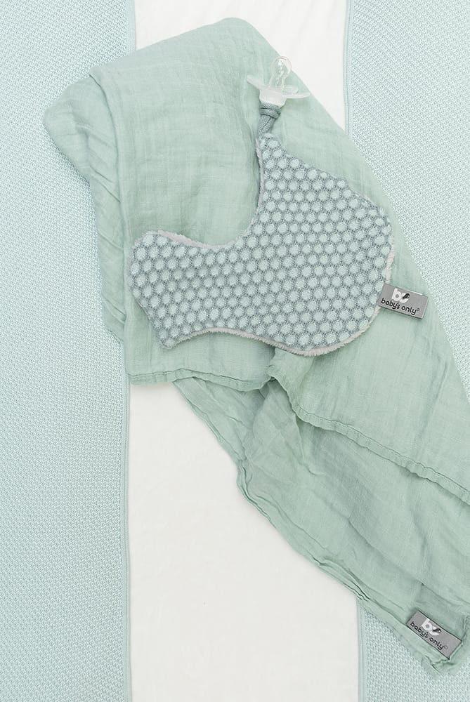 pacifier cloth bird sun mintstonegreen
