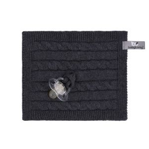 Pacifier cloth Cable anthracite