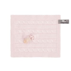 Pacifier cloth Cable classic pink