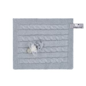 Pacifier cloth Cable grey