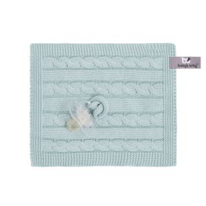 Pacifier cloth Cable mint