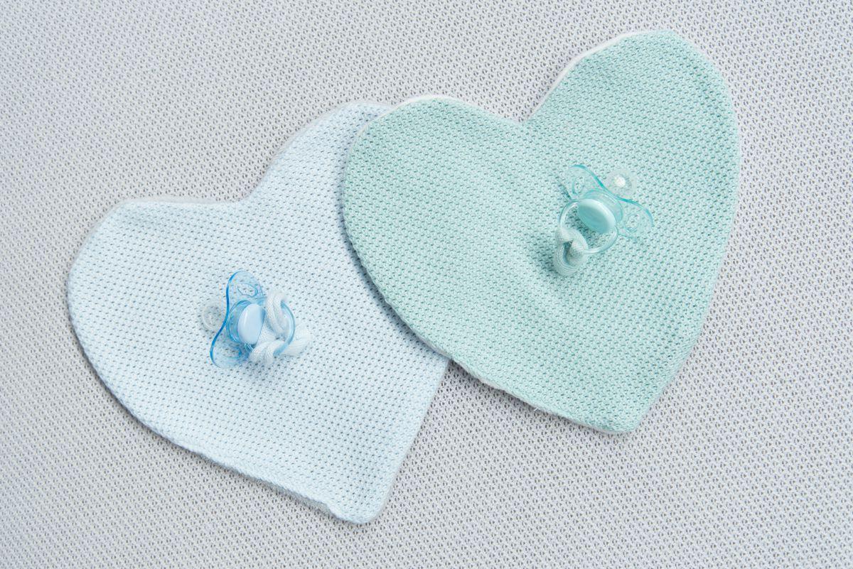 pacifier cloth classic powder blue