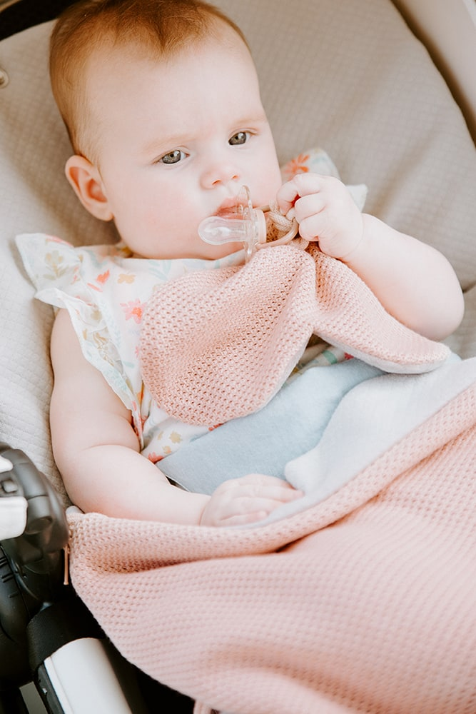 pacifier cloth classic sand