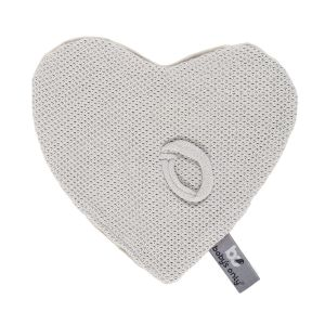 Pacifier cloth Classic silver-grey