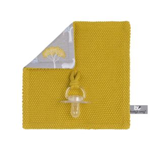 Pacifier cloth Forest mustard