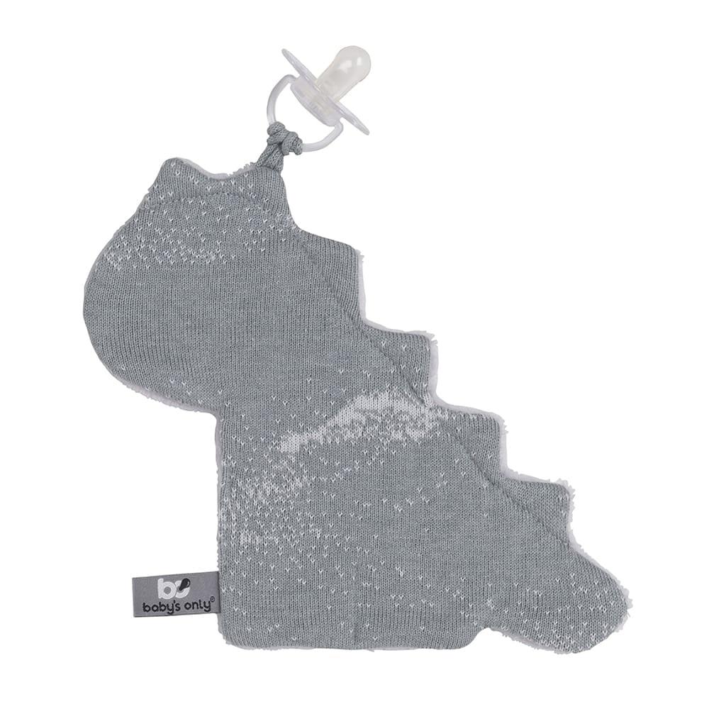 pacifier cloth marble greysilvergrey