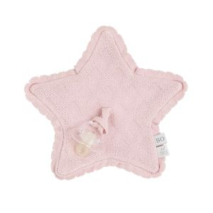 Pacifier cloth Reef misty pink