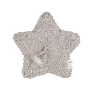 Pacifier cloth Reef urban taupe