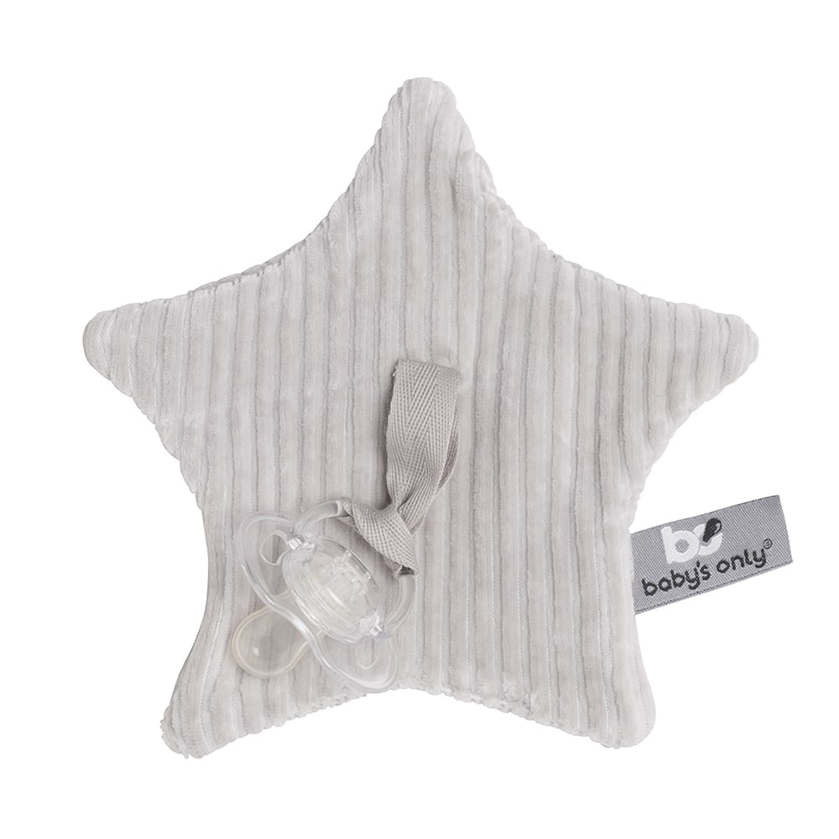 pacifier cloth sense pebble grey