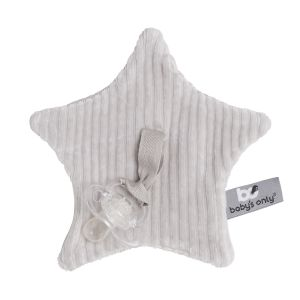 Pacifier cloth Sense pebble grey