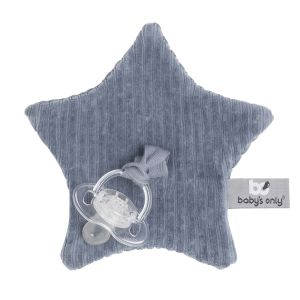 Pacifier cloth Sense vintage blue