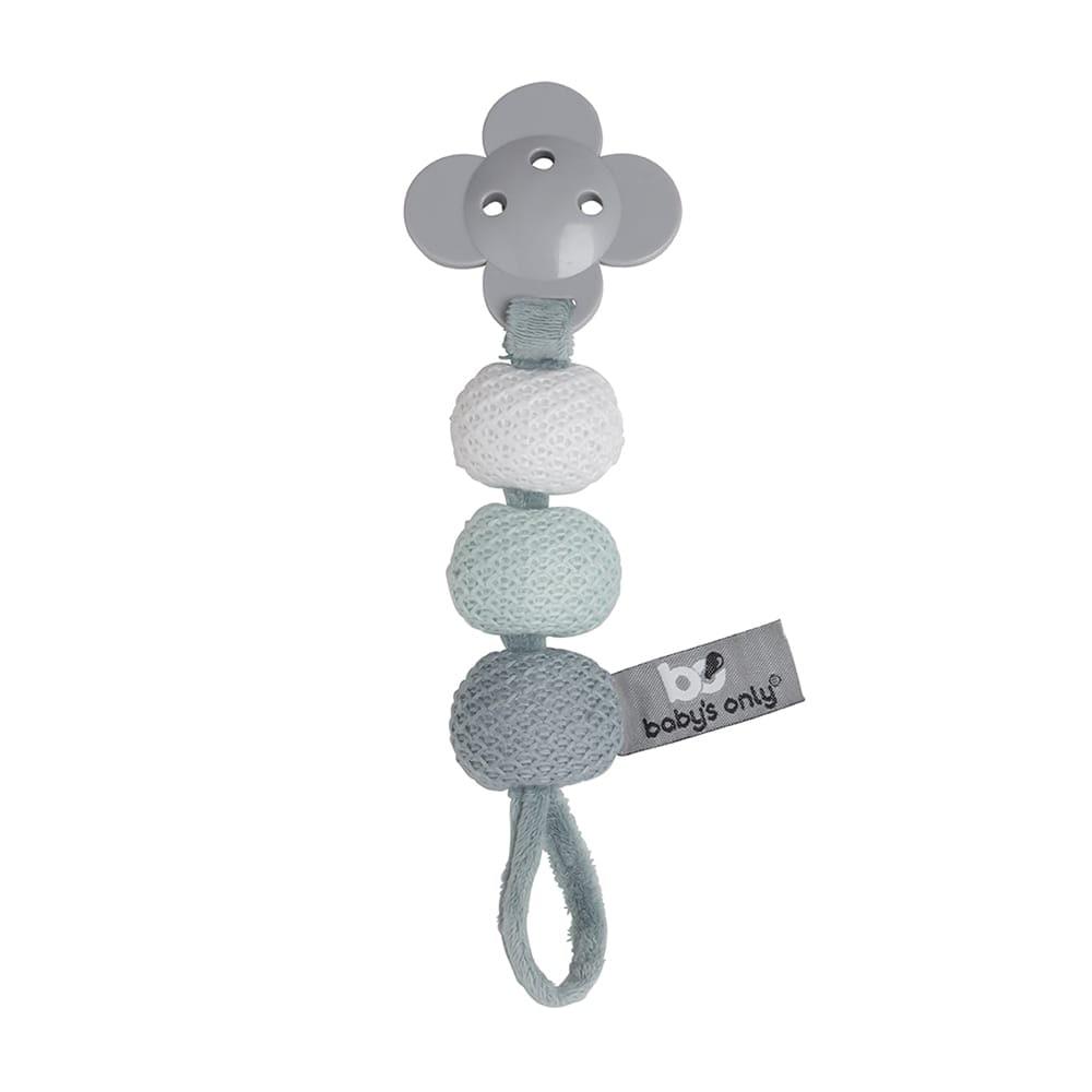 pacifier cord stonegreenmintwhite