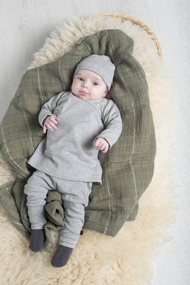 pants melange stonegreen 56