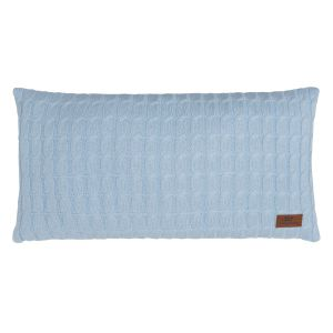 Pillow Cable baby blue - 60x30