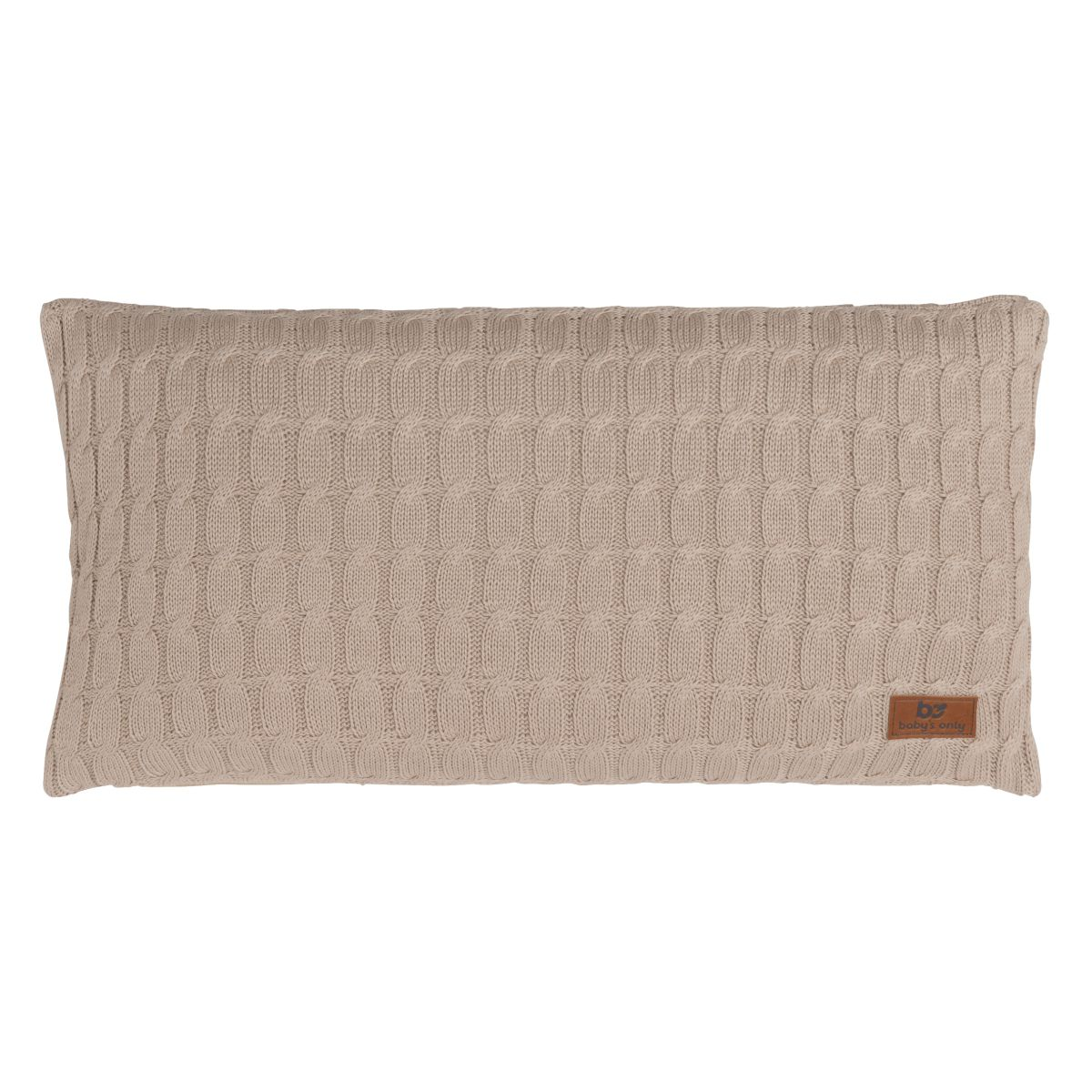 pillow cable beige 60x30
