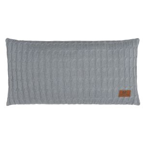 Pillow Cable grey - 60x30