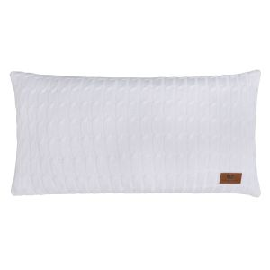 Pillow Cable white - 60x30