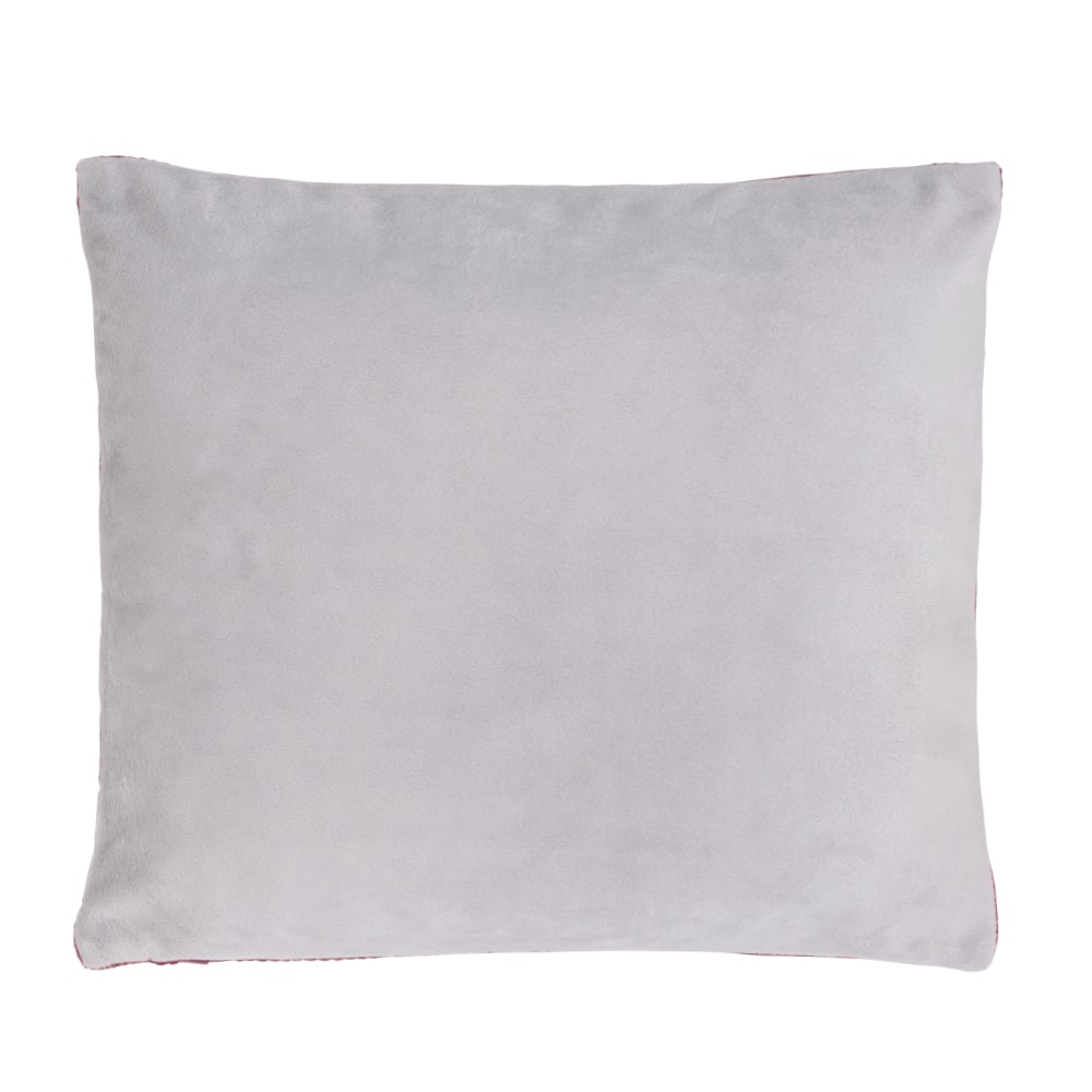 pillow classic stone red 40x40 cm