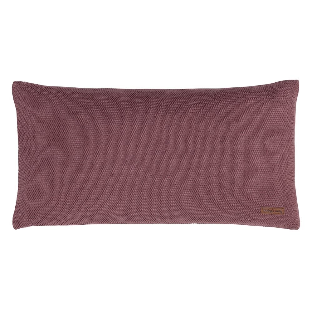 pillow classic stone red 60x30 cm