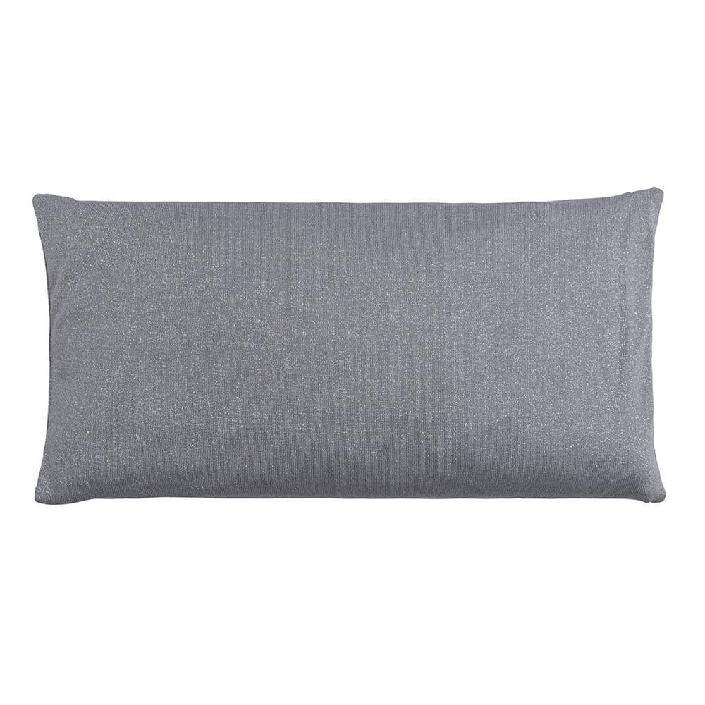 pillow sparkle silvergrey melee 60x30