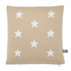 Pillow Star beige/white - 40x40