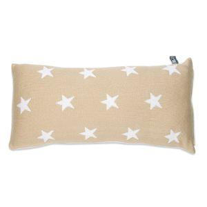 Pillow Star beige/white - 60x30