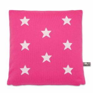 Pillow Star fuchsia/white - 40x40