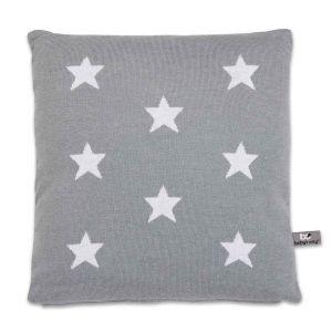 Pillow Star grey/white - 40x40