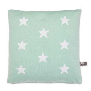 Pillow Star mint/white - 40x40