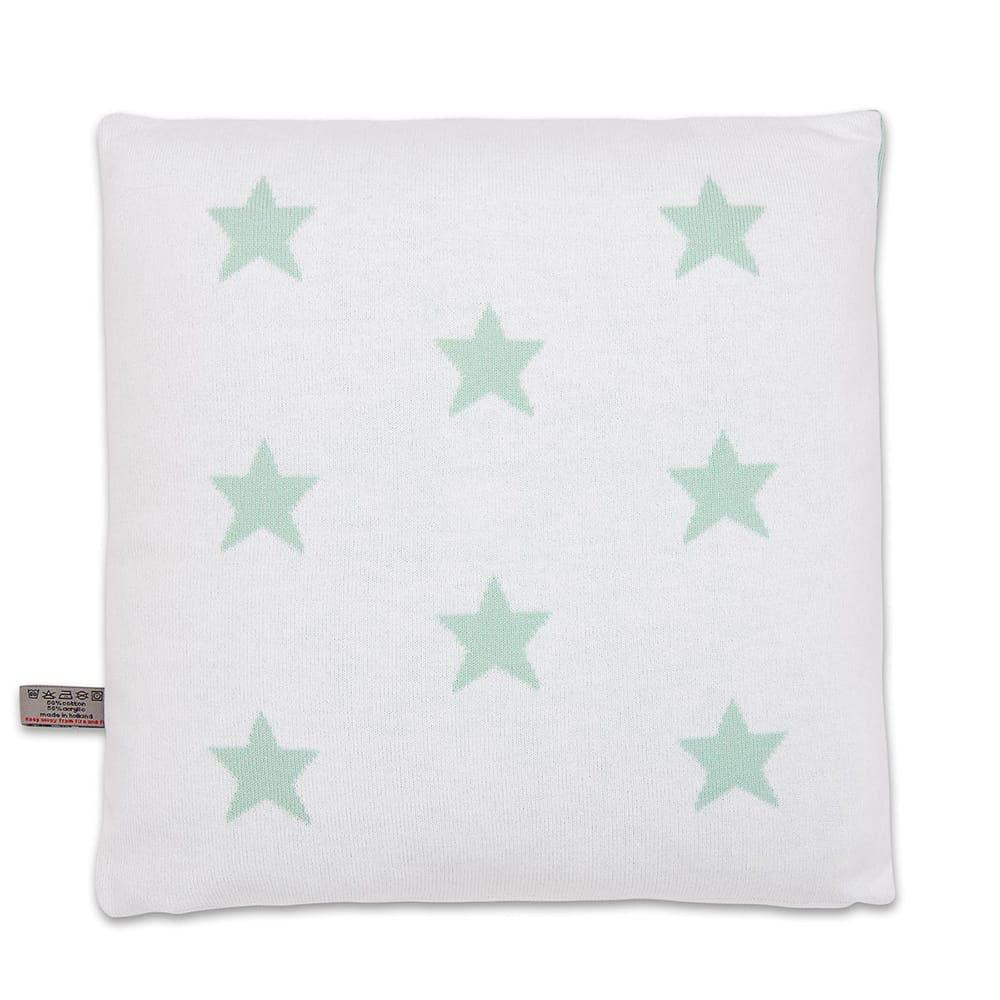 pillow star mintwhite 40x40