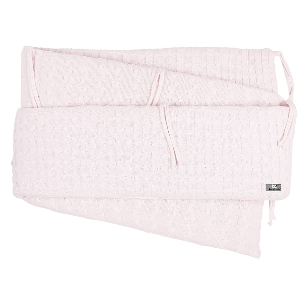 playpen bumper cable classic pink