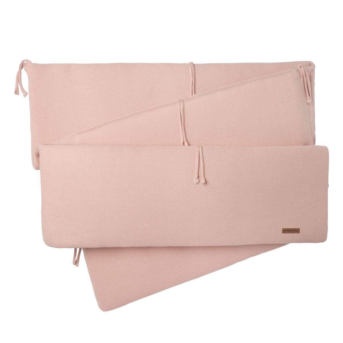 playpen bumper classic blush