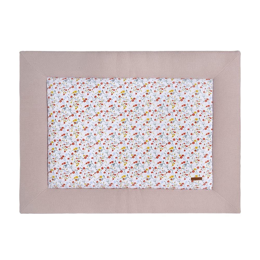 playpen mat bloom old pink 75x95
