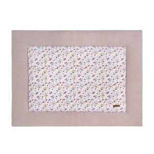 Playpen mat Bloom old pink - 75x95