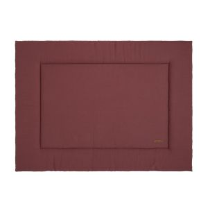 Playpen mat Breeze stone red - 75x95