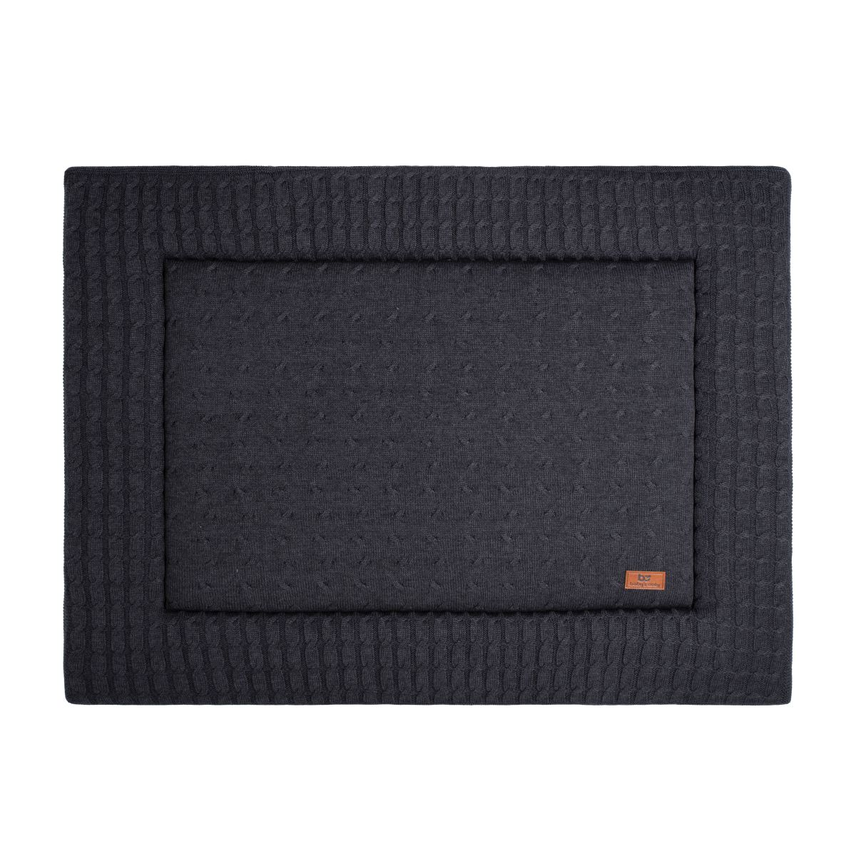 playpen mat cable anthracite 75x95