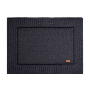 Playpen mat Cable anthracite - 80x100
