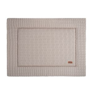 Playpen mat Cable beige - 75x95