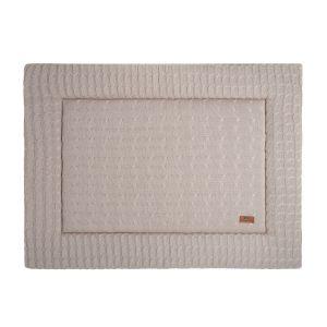 Playpen mat Cable beige - 75x95
