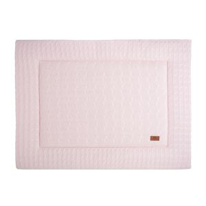 Playpen mat Cable classic pink - 80x100