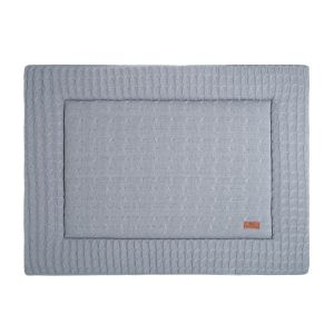 Playpen mat Cable grey - 75x95